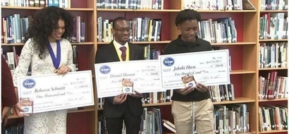Inspiring! 2 students who were once HOMELESS get scholarships to college (photos, video)