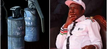 Police confirm grenade was throw inside Kalonzo's Karen homestead