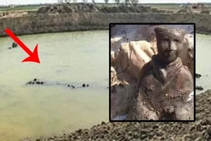 Fishermen noticed something really strange on the surface of this pond... They were shocked with their discovery!