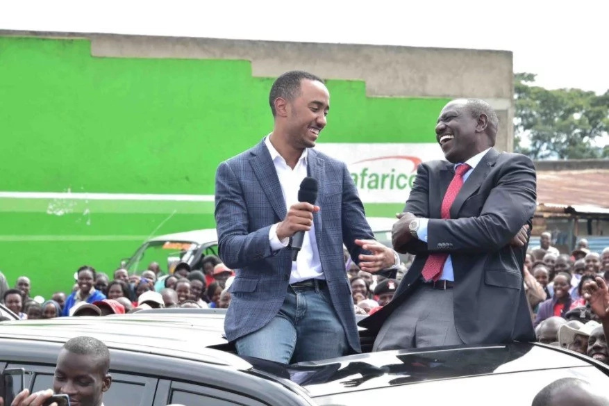 Uhuru's son attracts the wrath of Kenyans on social media with his Swahili 'speech'