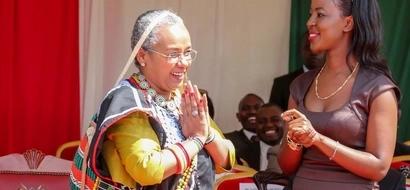 See The Gifts Margaret Kenyatta Received From Ukambani After Endorsing Alfred Mutua