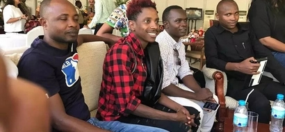 Comedian Eric Omondi launches campaign ahead of 2017 elections