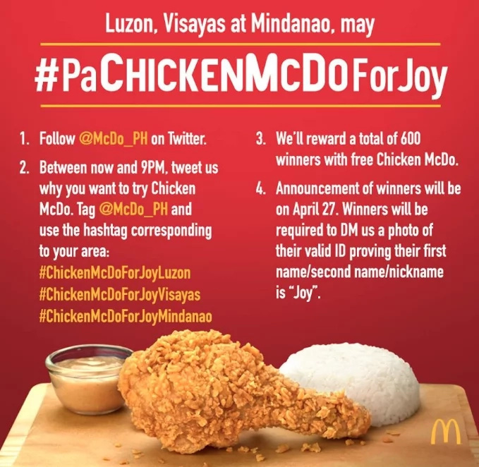 Would you choose Mc Donald's or Jollibee for the clash of chickens?