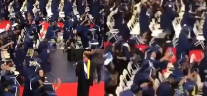 Keep jamming! These college kids SWAG SURF their way to graduation (photos, video)