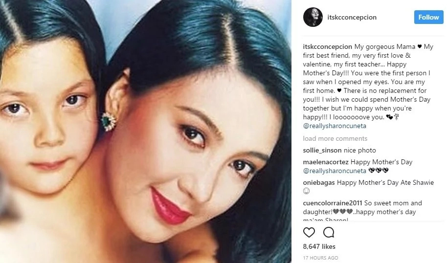 Look what Ann Curtis and KC Concepcion Posted on Their Instagram Accounts #MothersDay