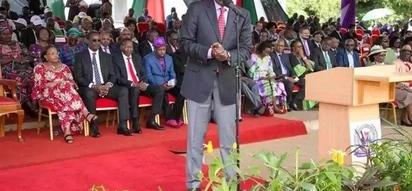 Usemi huu wa William Ruto katika sherehe ya Siku ya Wafanyakazi umewafanya Wakenya KUTAFAKARI (picha)