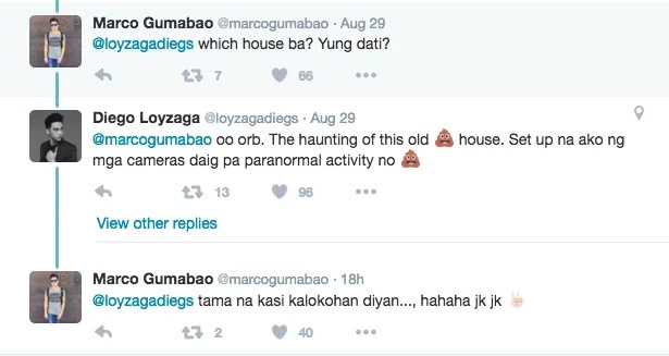 Diego Loyzaga shares scary stories about HAUNTED house
