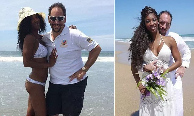 It was like a fairy-tale! Woman marries man who paid N29.6k for her on dating website (photos)