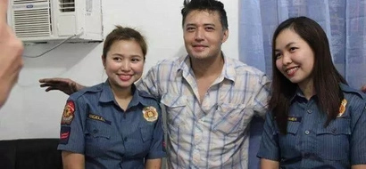 Disappointed netizens slam policewomen who happily posed with arrested Mark Anthony Fernandez