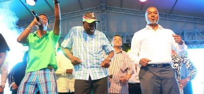 MOMBASA RAHA! DP William Ruto Couldn't Help Dancing At The Cultural Festival