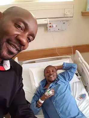 Maina Kageni nearly discharged from hospital after surgery