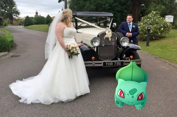Husband turned the wedding into a Pokemon Go gym and bride's reaction will surprise you