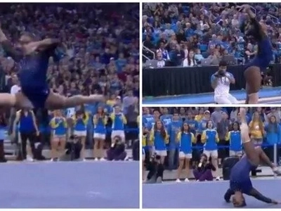 Online fame! Gymnast becomes internet SENSATION after Beyonce-inspired performance (photos, video)