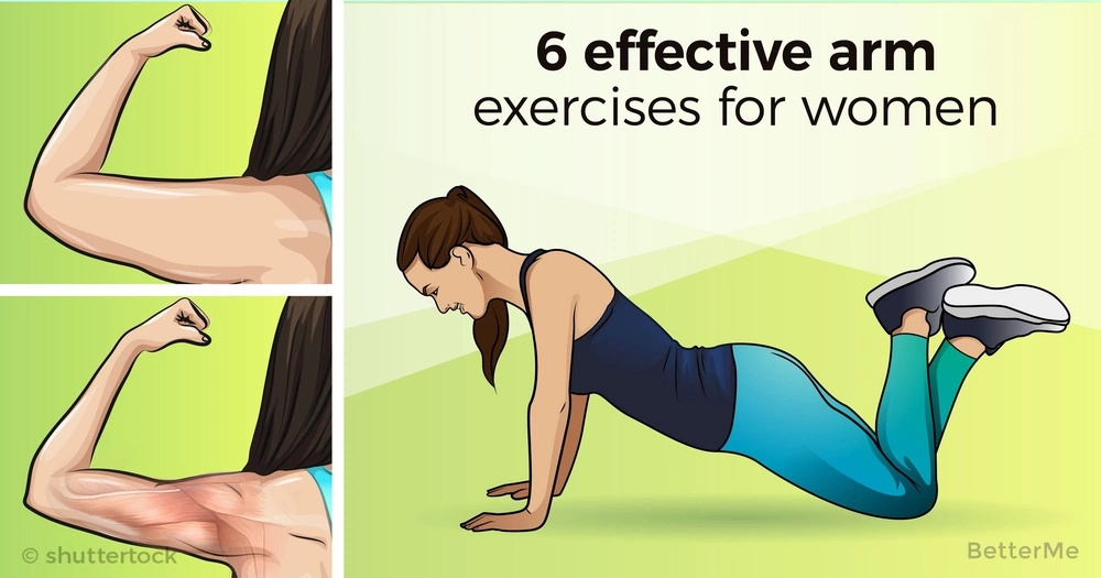 6 effective arm exercises for women