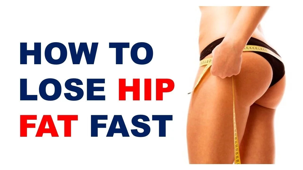 how to lose hip and thigh weight fast