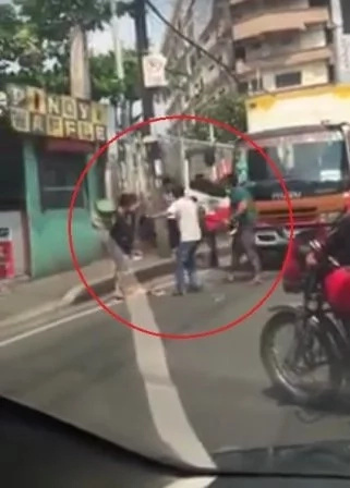 Road rage in Novaliches QC caught on video, went viral