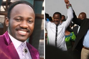 Man of God tells who will be the next Kenyan president