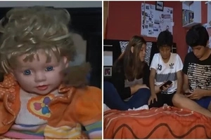 This doll is believed to be possessed, as residents claim to experience unusual paranormal activity since it got into their household