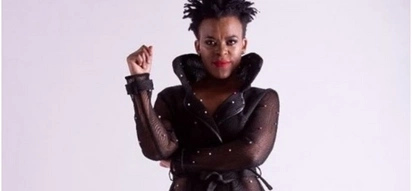 Socialite Zodwa Wabantu allegedly got herself a pet snake and named it Fluffy