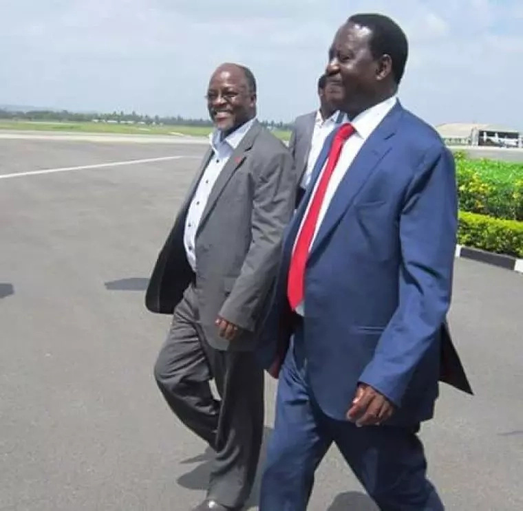 Details of Raila Odinga's secret phone call with Tanzania president