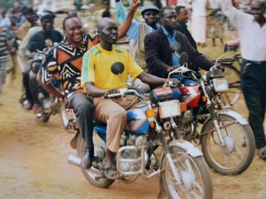 Boda boda rider wants to meet Uhuru Kenyatta as promised