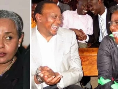 5 times Uhuru Kenyatta gave away adorable smile to women of high rank