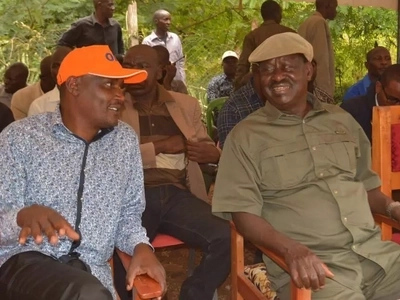 Raila visits William Ruto's backyard what happens is extremely honourable