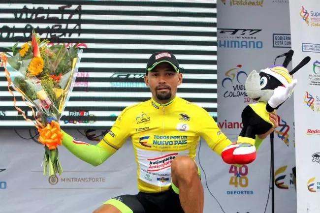 Ortega campeón de La Vuelta a Colombia