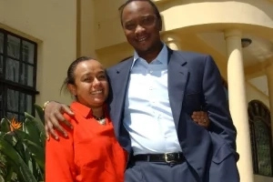 Ten killer photos of Uhuru Kenyatta and his bae, Margaret Kenyatta