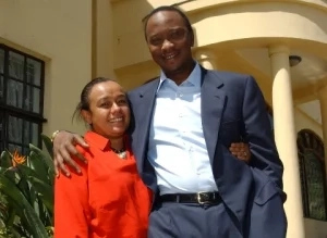 Ten killer photos of Uhuru Kenyatta and his bae, Margaret Kenyatta