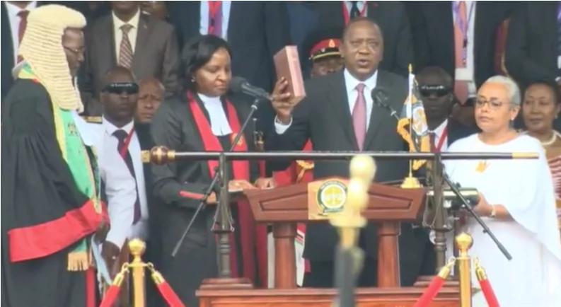 Uhuru's message to wife, ruto n wife