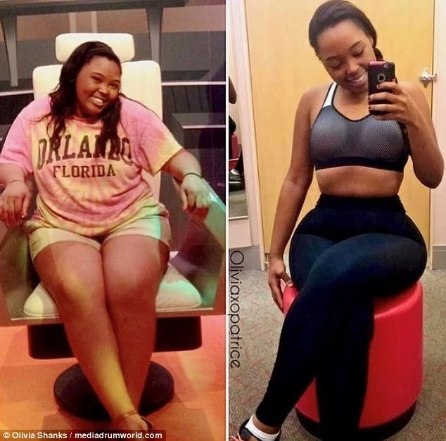 Woman, 24, who was once overweight shares her amazing 45kg weight loss journey