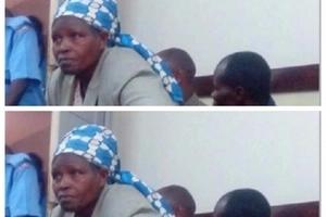 Female Kenyan preacher caught doing something very ODD behind the Kamukunji chief's office