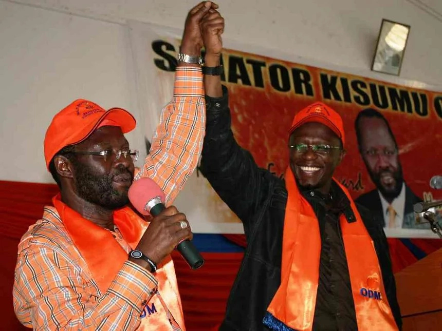 Nyong'o dismisses Ababu Namwamba frustration claims