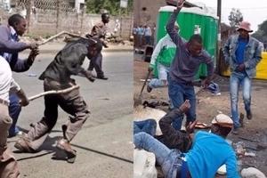 Journalists beaten like 'BURUKENGE' by church members