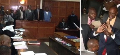 Daring lawyer fights High Court judge in Nairobi