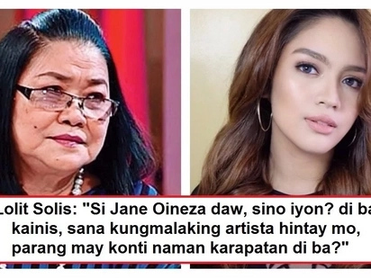 Lolit Solis insults Jane Oineza for her allegedly diva behavior during 'Haunted Forest' presscon! The Kapamilya star reacts to accusation