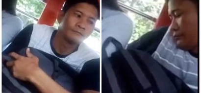 This Pinoy's man method of stealing will remind you to be more alert when commuting