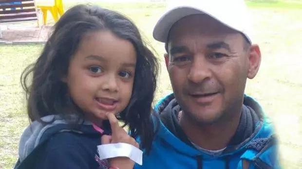 Anika with her hero Craig de Lange. Photo: Daily Voice