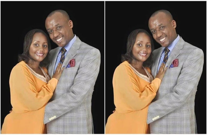 This is Mutula Kilonzo Jr's wife