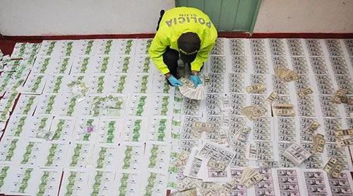 Por primera vez se incautaron billetes falsos de 100 dólares