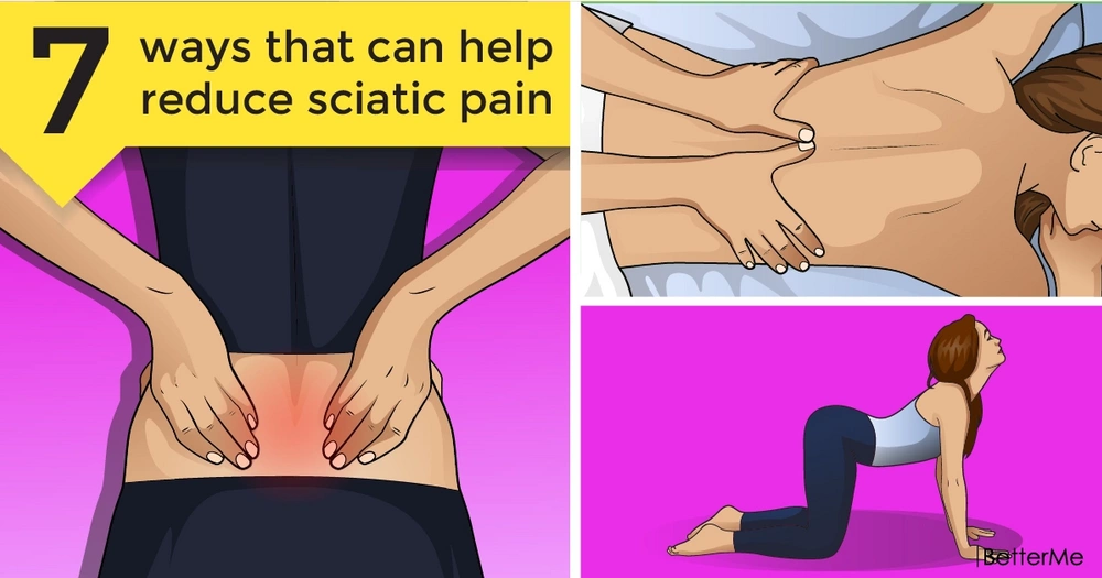 7 natural ways that can help reduce sciatic pain