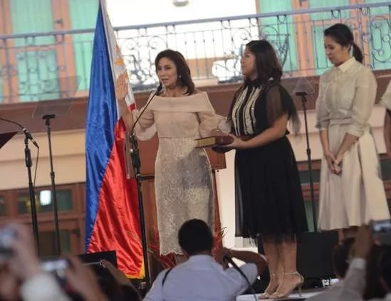 VP Robredo delivers inaugural speech