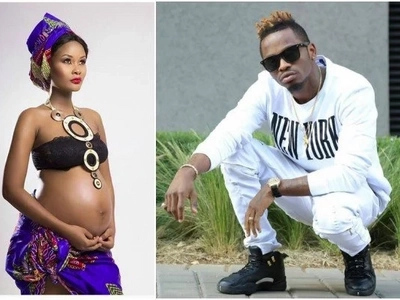 The clearest hint that Diamond fathered his former Mpango wa Kando's son