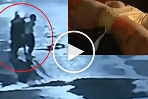 Caloocan City summary killing caught on CCTV