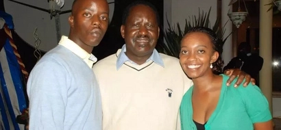 Raila Junior's response to Moses Kuria's attack on his dad