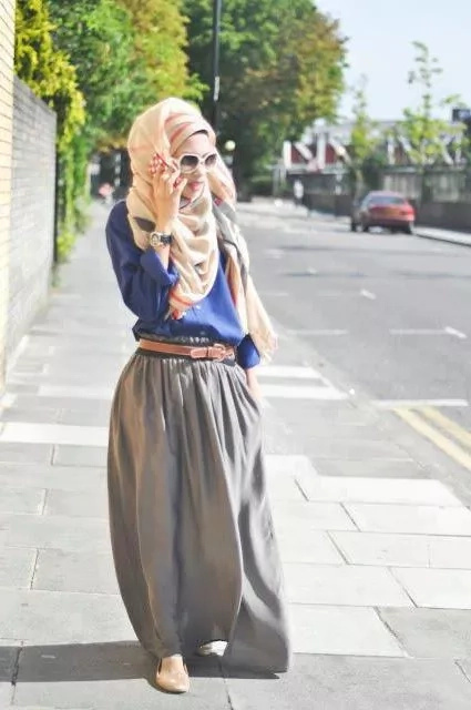 The Hijab as a serious fashion statement