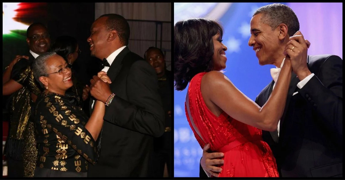 Amazing similarities of Margaret Kenyatta & Michelle Obama