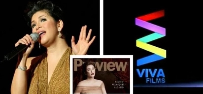 Regine Velasquez pumirma ng kontrata sa Viva! She denies the rumour na lilipat siya ng network.