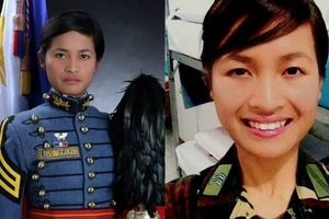 Inspiring Pinay Meriam Libongcogon who worked as a housemaid to march with PMA Class of 2017